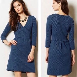 Anthropologie HD in Paris Surplice Dress | Size M